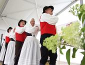 Folkloristi iz Grobelj pri Domžalah so že tradicionalni udeleženci kulturnega programa na srečanju.
