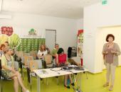 Na delavnici so se novinarji seznanili z najnovejšimi dognanji glede rabe sredstev za varstvo rastlin.