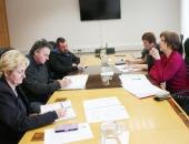 Svetovalka za pridelavo zelišč Jožica Kapun Maršik (desno) je predstavila svoj program dela.
