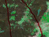 Opozorilo zaradi požara v Podskrajniku