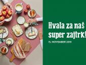 Tradicionalni slovenski zajtrk in dan slovens...