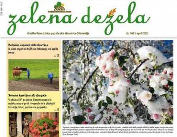 Glasilo Zelena dežela 165 - april 2021
