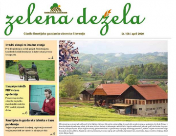 Zelena dežela 158 - april 2020