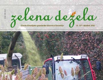 Zelena dežela 137 - oktober 2016