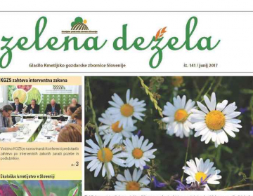 Zelena dežela 141 - junij 2017