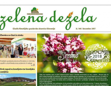 Zelena dežela 144 - december 2017