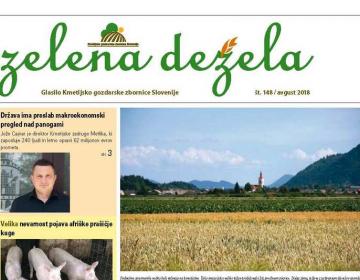 Zelena dežela 148 - avgust 2018
