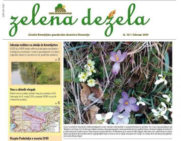 Zelena dežela številka 151 - februar 2019