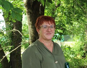 Irena Friškovec, specialistka za hmeljarstvo KGZS – Zavoda Celje Foto: Vesna Čuček