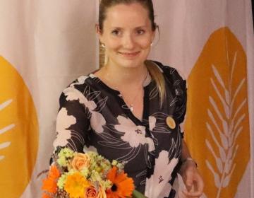 Predsednica ZSPM Anja Mager