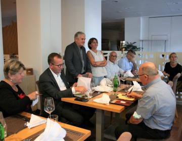 Srečanje predsednika zbornice s tujimi kmetijskimi novinarji