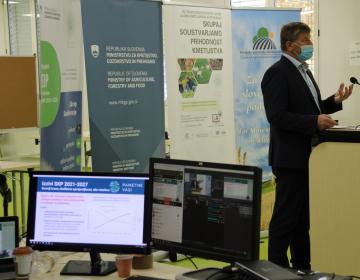 Med drugimi je pogled evropskega parlamenta predstavil tudi evropski poslanec Franc Bogovič