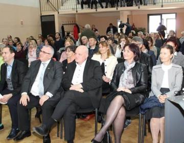 Predsednik KGZS Cvetko Zupančič na srečanju članov...