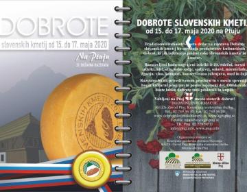Razpis za sodelovanje Dobrote slovenskih kmetij 20...