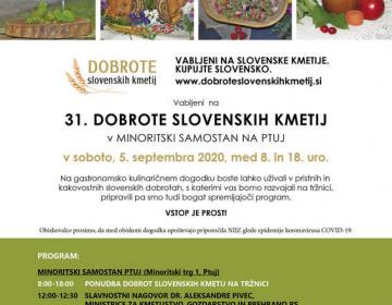 Že 31. dobrote slovenskih kmetij