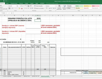 Obrazci za vodenje mesečnih poročil FADN za leto 2...