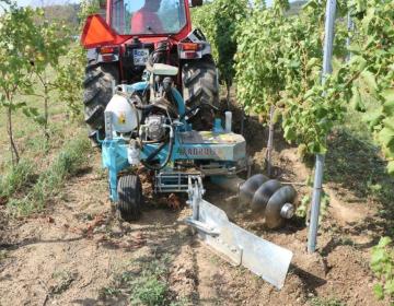 Agromelioracije pri postavitvi novega vinograda