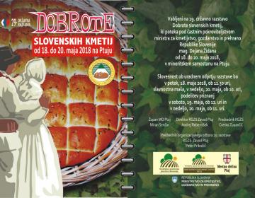 Priprave na 29. državno razstavo Dobrote slovenski...