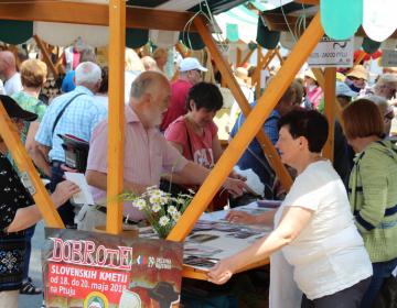 Na tokratnem Podeželju v mestu so se predstavile Dobrote slovenskih kmetij