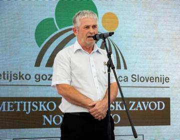 Prisotne je pozdravil tudi predsednik KGZS Roman Žveglič