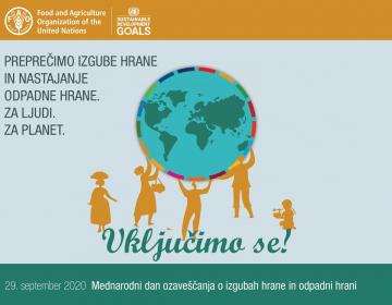 Mednarodni dan ozaveščenosti o izgubah hrane in odpadni hrani