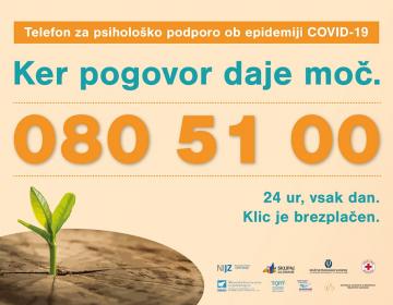 Telefon za psihološko podporo ob epidemiji COVID-1...