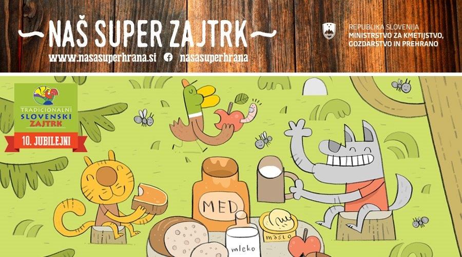 Tradicionalni slovenski zajtrk tokrat doma
